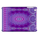India Ornaments Mandala Pillar Blue Violet Apple iPad Mini Hardshell Case View1