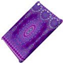 India Ornaments Mandala Pillar Blue Violet Apple iPad Mini Hardshell Case View4