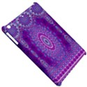 India Ornaments Mandala Pillar Blue Violet Apple iPad Mini Hardshell Case View5