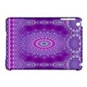 India Ornaments Mandala Pillar Blue Violet Apple iPad Mini Hardshell Case (Compatible with Smart Cover) View1