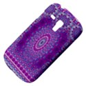 India Ornaments Mandala Pillar Blue Violet Samsung Galaxy S3 MINI I8190 Hardshell Case View4