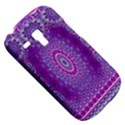 India Ornaments Mandala Pillar Blue Violet Samsung Galaxy S3 MINI I8190 Hardshell Case View5