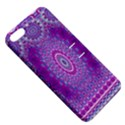 India Ornaments Mandala Pillar Blue Violet Apple iPhone 5 Hardshell Case with Stand View5