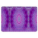 India Ornaments Mandala Pillar Blue Violet Samsung Galaxy Tab 8.9  P7300 Flip Case View1