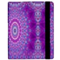 India Ornaments Mandala Pillar Blue Violet Samsung Galaxy Tab 8.9  P7300 Flip Case View2
