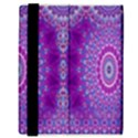 India Ornaments Mandala Pillar Blue Violet Samsung Galaxy Tab 8.9  P7300 Flip Case View3