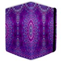 India Ornaments Mandala Pillar Blue Violet Samsung Galaxy Tab 8.9  P7300 Flip Case View4