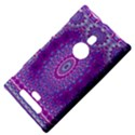India Ornaments Mandala Pillar Blue Violet Nokia Lumia 925 View4