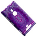 India Ornaments Mandala Pillar Blue Violet Nokia Lumia 925 View5