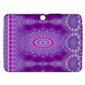 India Ornaments Mandala Pillar Blue Violet Samsung Galaxy Tab 3 (10.1 ) P5200 Hardshell Case  View1