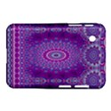 India Ornaments Mandala Pillar Blue Violet Samsung Galaxy Tab 2 (7 ) P3100 Hardshell Case  View1