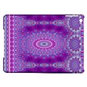 India Ornaments Mandala Pillar Blue Violet iPad Air Hardshell Cases View1