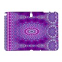 India Ornaments Mandala Pillar Blue Violet Samsung Galaxy Note 10.1 (P600) Hardshell Case View1