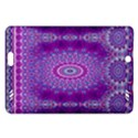 India Ornaments Mandala Pillar Blue Violet Amazon Kindle Fire HD (2013) Hardshell Case View1