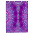 India Ornaments Mandala Pillar Blue Violet iPad Mini 2 Flip Cases View1