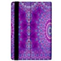 India Ornaments Mandala Pillar Blue Violet iPad Mini 2 Flip Cases View4