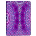 India Ornaments Mandala Pillar Blue Violet iPad Air Flip View1