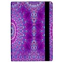 India Ornaments Mandala Pillar Blue Violet iPad Air Flip View2