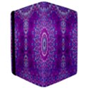 India Ornaments Mandala Pillar Blue Violet iPad Air Flip View3
