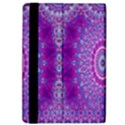 India Ornaments Mandala Pillar Blue Violet iPad Air Flip View4