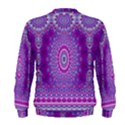 India Ornaments Mandala Pillar Blue Violet Men s Sweatshirt View2