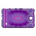 India Ornaments Mandala Pillar Blue Violet Samsung Galaxy Tab 4 (7 ) Hardshell Case  View1