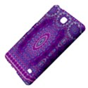India Ornaments Mandala Pillar Blue Violet Samsung Galaxy Tab 4 (7 ) Hardshell Case  View4