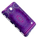 India Ornaments Mandala Pillar Blue Violet Samsung Galaxy Tab 4 (7 ) Hardshell Case  View5