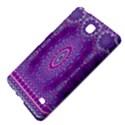 India Ornaments Mandala Pillar Blue Violet Samsung Galaxy Tab 4 (8 ) Hardshell Case  View4
