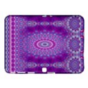 India Ornaments Mandala Pillar Blue Violet Samsung Galaxy Tab 4 (10.1 ) Hardshell Case  View1