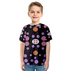 Alphabet Shirtjhjervbret (2)fvgbgnhlluuii Kids  Sport Mesh Tee