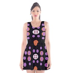 Alphabet Shirtjhjervbret (2)fvgbgnhlluuii Scoop Neck Skater Dress