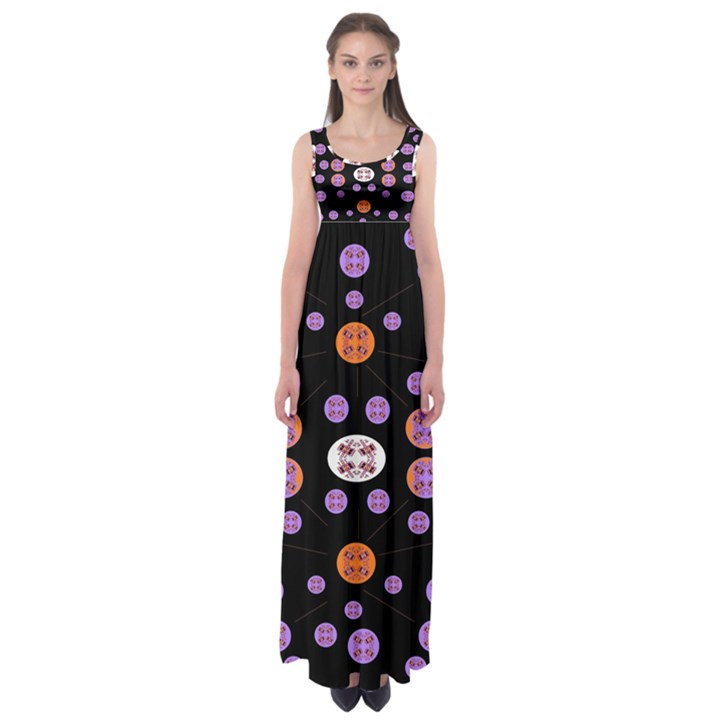 Alphabet Shirtjhjervbret (2)fvgbgnhlluuii Empire Waist Maxi Dress