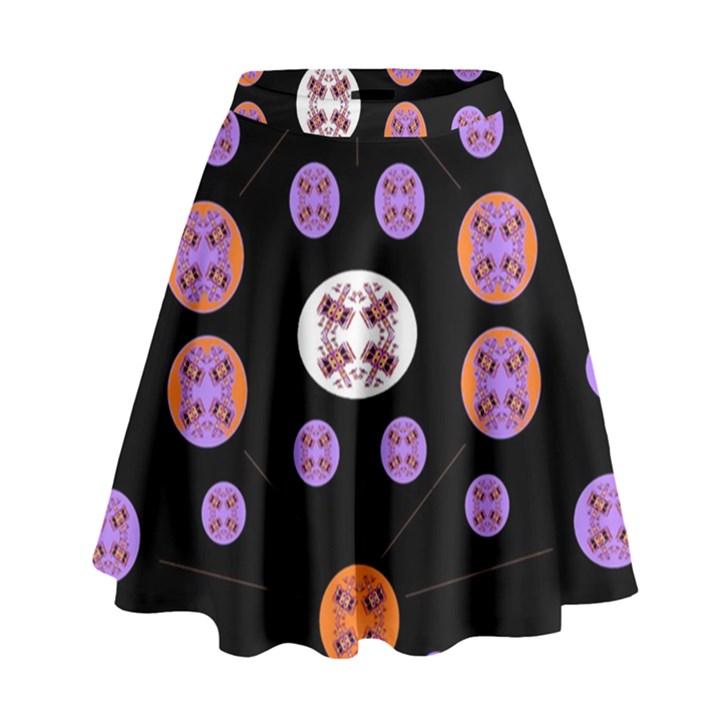 Alphabet Shirtjhjervbret (2)fvgbgnhlluuii High Waist Skirt