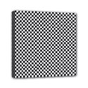 Sports Racing Chess Squares Black White Mini Canvas 6  x 6  View1