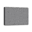 Sports Racing Chess Squares Black White Mini Canvas 7  x 5  View1