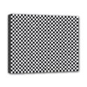 Sports Racing Chess Squares Black White Canvas 10  x 8  View1