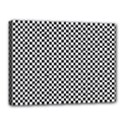 Sports Racing Chess Squares Black White Canvas 16  x 12  View1