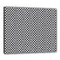 Sports Racing Chess Squares Black White Canvas 24  x 20  View1
