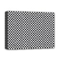 Sports Racing Chess Squares Black White Deluxe Canvas 16  x 12   View1