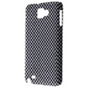 Sports Racing Chess Squares Black White Samsung Galaxy Note 1 Hardshell Case View3