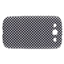 Sports Racing Chess Squares Black White Samsung Galaxy S III Hardshell Case  View1