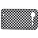 Sports Racing Chess Squares Black White HTC Incredible S Hardshell Case  View1
