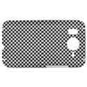 Sports Racing Chess Squares Black White HTC Desire HD Hardshell Case  View1