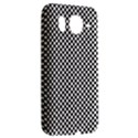 Sports Racing Chess Squares Black White HTC Desire HD Hardshell Case  View2