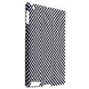 Sports Racing Chess Squares Black White Apple iPad 2 Hardshell Case (Compatible with Smart Cover) View2
