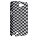 Sports Racing Chess Squares Black White Samsung Galaxy Note 2 Hardshell Case View2