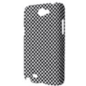 Sports Racing Chess Squares Black White Samsung Galaxy Note 2 Hardshell Case View3