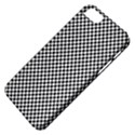 Sports Racing Chess Squares Black White Apple iPhone 5 Classic Hardshell Case View4