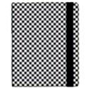 Sports Racing Chess Squares Black White Kindle Fire (1st Gen) Flip Case View2